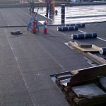 Bitumen Flat Roof Installation
